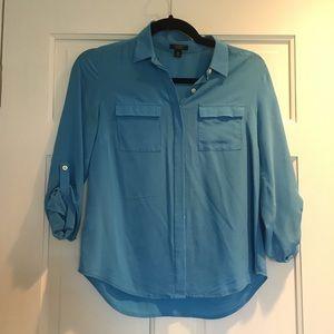 Ann Taylor Petite silk blouse